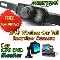 Wholesale Wireless Car Rear View Camera for GPS Day Night wireless rear camera
