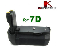 7d battery grip - Batter Grip Pack For DSLR Camera EOS D BG E7 Multi power Supporting LP E6 Battery Vertical Shooting