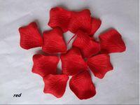 Wholesale 1300pcs RED Rose Flower Petal Wedding Decoration low price