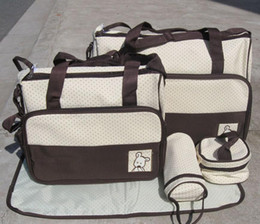 Wholesale 30pcs Baby diaper bag mummy bag baby diaper bag nursery bag Mama Bags four colors mixed order