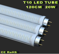 Wholesale 10pcs W T10 LED Tube CM led fluorescent lamps SMD lm rotatable holder G13
