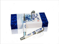 Wholesale High quality Gel Ink Pen Personalized Corporate gift Ideas Chinese Ceramic Hardcover Box Free