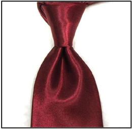 red tie necktie men's ties solid tie neck ties men ties business ties ties for men wholesale tie