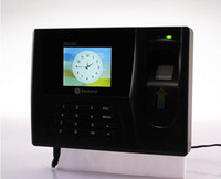 Wholesale really ZDC202 fingerprint fingerprint fingerprint time attendance punch card machine