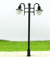 Wholesale 100pcs HO scale mdoel lamp copper lamppost for train layout
