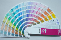 Wholesale 1pcs International standard American pantone color card the Plus series FORMULA GUIDE Solid Uncoated