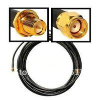 al por mayor wan cables-Venta al por mayor del envío 5 Piezas / Lote Nuevo 9M WiFi WAN Router Wi - Fi de la antena de cable de extensión RP- SMA