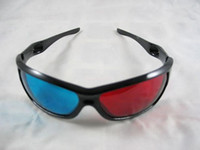 Wholesale Red Blue Cyan D Dimension Anaglyph Glasses D Glasses for Movies