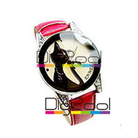 Wholesale Lover cat watch ladies watch korean cat watch JN ZS C0007