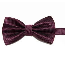 retail sale bowties tie knots men's ties wine red bowtie bows necktie men bow ties for man