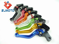 Wholesale Motorcycle cnc Adjustable aluminum brake and clutch lever Handle For HONDA CBR600RR CBR1000RR FIREBLADE shorty lever
