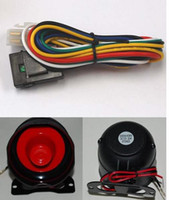 Wholesale one way car alarm with remote engine start anti hijacking Alarm Systems