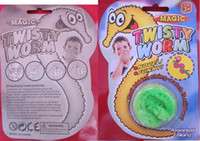 Wholesale Funny toy Magic worm Twisty worm Wurli wiggles Plu...