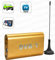 Wholesale DVB T Digital TV Receiver for Cars vehicles MPEG DVB