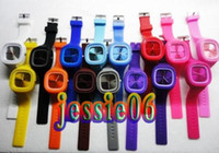 Wholesale Fashion watch SS COM watch jelly candy colored watches electronic colorful watch t