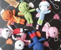 Wholesale New Style of Voodoo Doll Keychains little voodoo dolls
