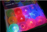 balls bouncing - Club LED Flashing Ball light up bouncing ball Party Dancing ball christmas products party favors