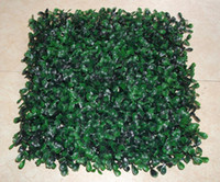 Wholesale 2016 UV proof style plastic artificial boxwood mat size cm cm