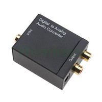 Wholesale Digital Coax Optical Toslink to Analog Audio Converter