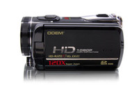 Wholesale DV Camera HD DVC Digital Camcorder Video Camera HD A120T HD P inch LCD Touch Display