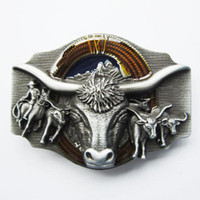 Wholesale Belt Buckle Longhorn Rodeo Bull Western Contact Us for Details
