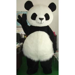 Wholesale New Wedding Panda Bear Monster Mascot Costume Fancy Dress Adult Size