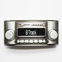 antique car stereo - Belt Buckle Antique Brushed Silver Color Track Tape Stereo Music Contact Us for Details BUCKLE MU028
