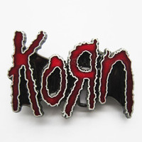 Wholesale Belt Buckle Korn Rock Punk Music Contact Us for Details