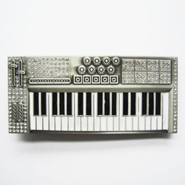 Wholesale Belt Buckle Antique Brushed Silver Color Rhinestones Piano Contact Us for Details BUCKLE MU039