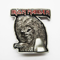 Smooth Buckle animals killers - Belt Buckle Pewter Iron Maiden Killers Heavy Metal Contact Us for Details