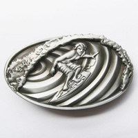 Wholesale Retail Belt Buckle Original D Surfing Play Boy