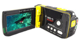 "3.0"" Screen 16 MP FULL HD 1080P Waterproof Digital Video Camera Camcorder HDMI Yellow Free EMS"
