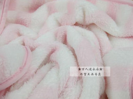 Wholesale High grade coral flocking baby blanket children s blanket feel soft dropping soft not the ball