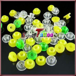 300Pcs Colorful Silicon Rubber bands Grommets Nipples For Tattoo Machine Needles Supplies