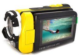 3 inch Screen 16 MP FULL HD 1080P Waterproof Digital Video Camera Camcorder HDMI Yellow Free EMS