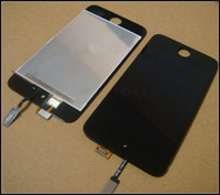 Wholesale LCD Screen with Glass Digitizer Touch Panel Assembly for ipod touch G itouch by DHL free