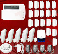 Wholesale NEW KEYBOARD WIRELESS HOME SECURITY BURGLARPROOF AGAINST THEFT AUTO DIALER ALARM SYSTEM P6B
