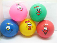 Wholesale Inflatable Funny Emoticon Bouncing Balls cm Dia