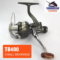Spinning fishing reel 100% brand new fishing reel 5 Ball bearing 2011 NEW spinning reels 5.2:1 fishing tackle tools TB400