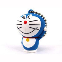 usb memory stick driver - GB cartoon flash memory drivers Doraemon PVC USB stick driver PC