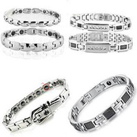 Wholesale FASHION JEWELRY BRACELET CUFF BANGLE energy magnetic bracelets DHL EMS