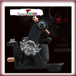 Skull Tattoo Machine Gun for Liner and Shader Supply