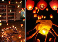 Gift Toy Easter Sky Lanterns free shipping Sky Lanterns,Wishing Lantern fire balloon Chinese Kongming lantern Wishing Lamp for BI