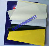 Wholesale 100 sheets TATTOO Thermal Transfer Paper high quality tattoo Transfer Paper