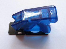 Transparent Blue Safety Flip Cover for Toggle Switch 10 pcs per lot hot sale