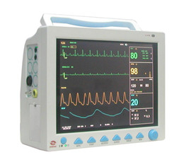 Wholesale NEW inch ICU patient Monitor CMS8000 with parameters ECG NIBP SPO2 RESP TEMP PR Option Printer Etco2 IBP Holder