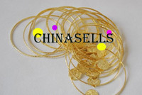 Wholesale Belly dance bracelet hand ring gold color
