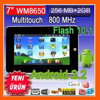 Wholesale Christmas Inch Android VIA Tablet PC Wifi Camera Laptop GB TabletS Netbooks Free