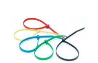 Wholesale 100pcs mm bule new Nylon Velcro cable Ties ESC servo battery bend belt Wire reusable bundle str