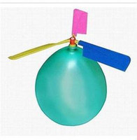 100pcs- Balloon Helicopter balloon Toy children Toy self- comb...
